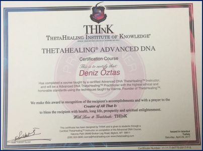 Theta Healing Advanced DNA_Deniz Oztas