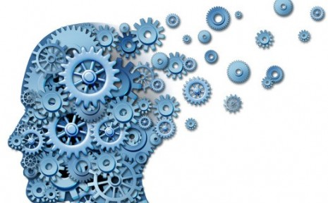 Brain loss and losing memory and intelligence due to neurological trauma and head injury or alzheimer disease caused by aging with gears and cogs in the shape of a human thinking mind.; Shutterstock ID 98211377; PO: The Huffington Post; Job: The Huffington Post; Client: The Huffington Post; Other: The Huffington Post